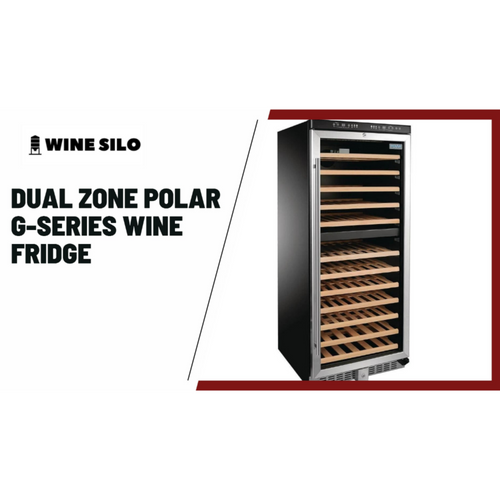 Dual Zone Polar G-Series Upright Wine Fridge 92 Bottle