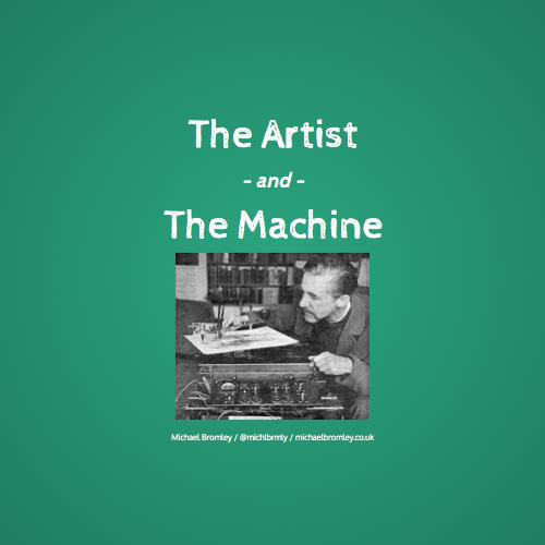 Max Ernst - La taberna a las orillas del Lahn, mixed-media
